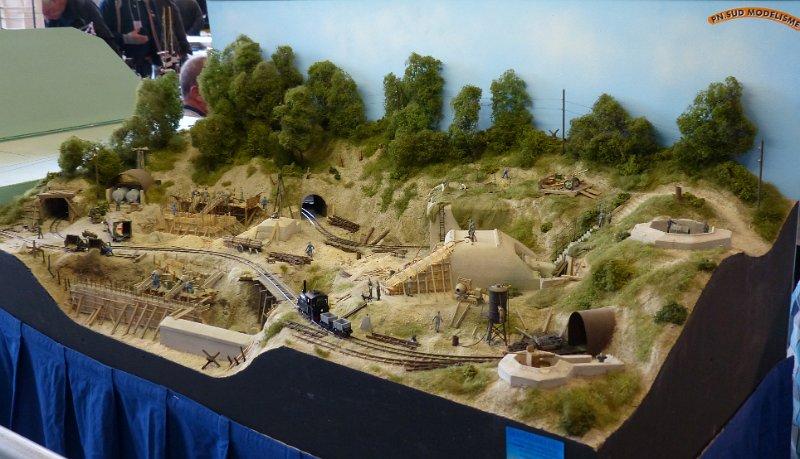 Salon du train miniature et de la maquette 26 et 27 for Salon du train miniature